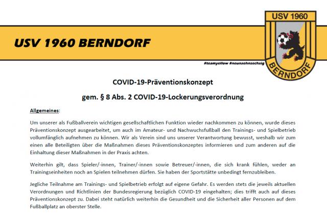 Unser COVID-19 Präventionskonzept